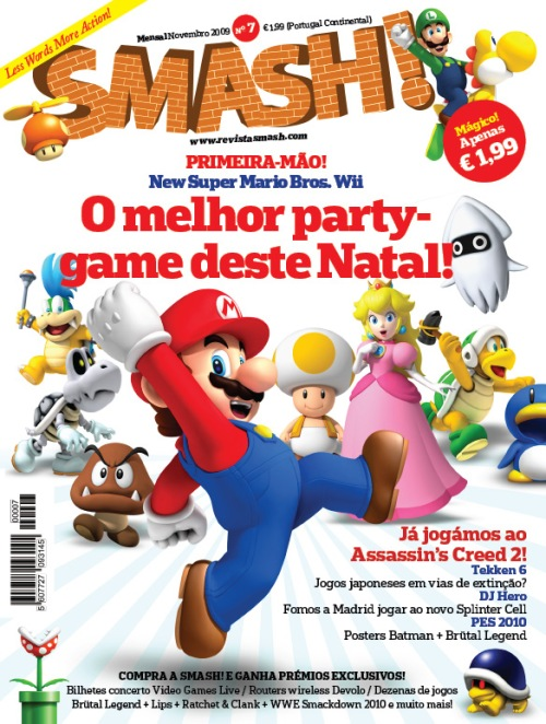 Capa da Smash! Nº7